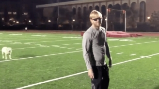 Jake Olson, Blind Long Snapper At USC Made A QB Highlight Video As Team Looks To Replace Sam Darnold