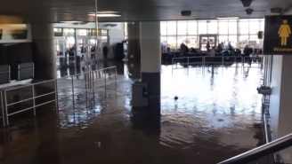 JFK Airport Underwater, Near Riots Breaking Out, Travelers Stranded After Bomb Cyclone Causes Chaos