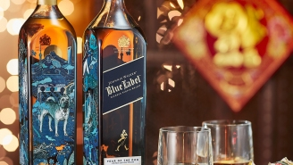 Johnnie Walker Blue Label Is Toasting The Year Of The Dog With These Epic Limited Edition Bottles