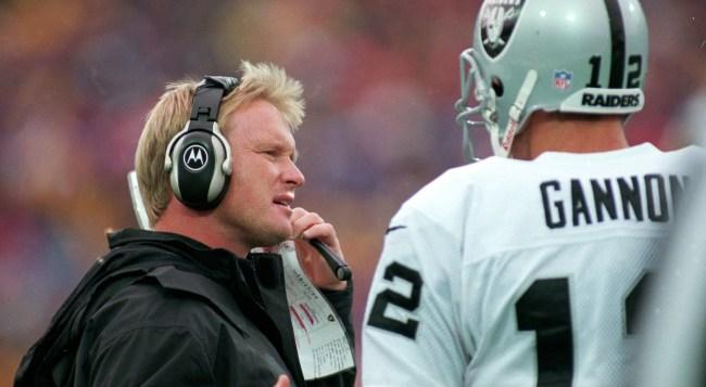 jon gruden hired head coach raiders