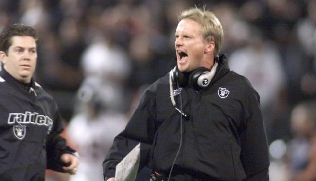 Jon Gruden Raiders head coaching job