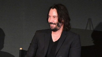 Keanu Reeves' Super Bowl Ads Are So Gloriously Bizarre They Even Snuck In A 'Sad Keanu' Reference