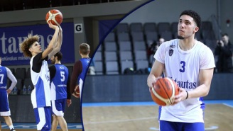 Here We Go! The First Clips Of LaMelo, LiAngelo Ball On The Court In Lithuania Are Here