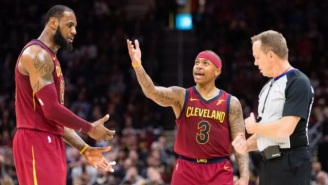 Isaiah Thomas Reportedly Has A Close Relationship With Dan Gilbert Which Probably Isn't Going To Go Over Well With LeBron James