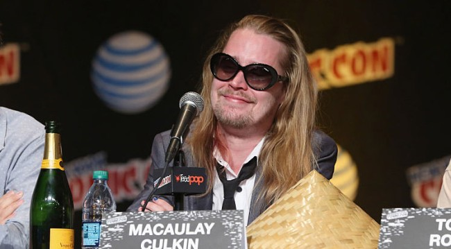 Macaulay Culkin Why Quit Acting Father