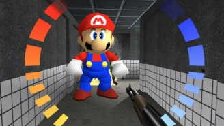 This Is What It'd Look Like If You Put 'Mario 64' Characters In 'GoldenEye 007'