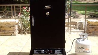 Make This 'The Year Of Smoked Meats' With This Discounted Masterbuilt Smoker