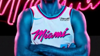 The Miami Heat Have Officially Unveiled Their 'Miami Vice' Inspired Jerseys And They Are Absolute FIRE