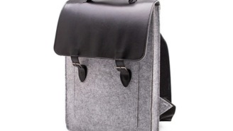 Inject Some Style Into Your Commute With Minimalist 'Something Sleek' Felt Backpack (71% OFF)