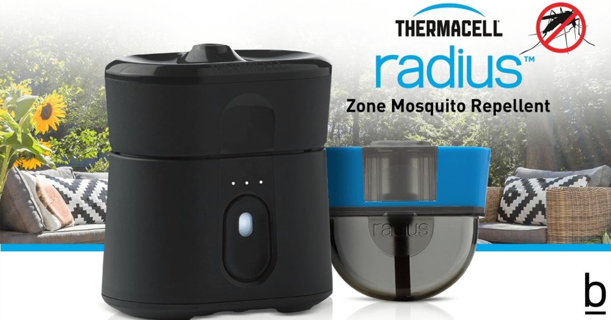 mosquito repellent radius