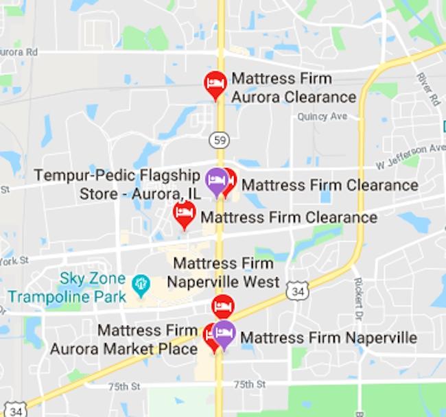 naperville illinois mattress firms