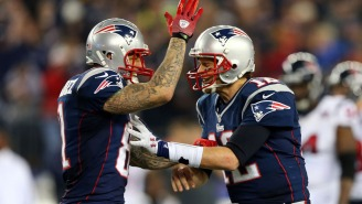 The NFL Edited Aaron Hernandez's Name Out Of A New Tom Brady Postseason Highlight Reel