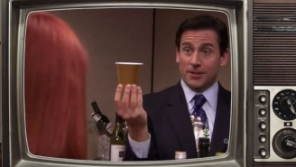 Making The 'One Of Everything' Cocktail Michael Scott Created On 'The Office'