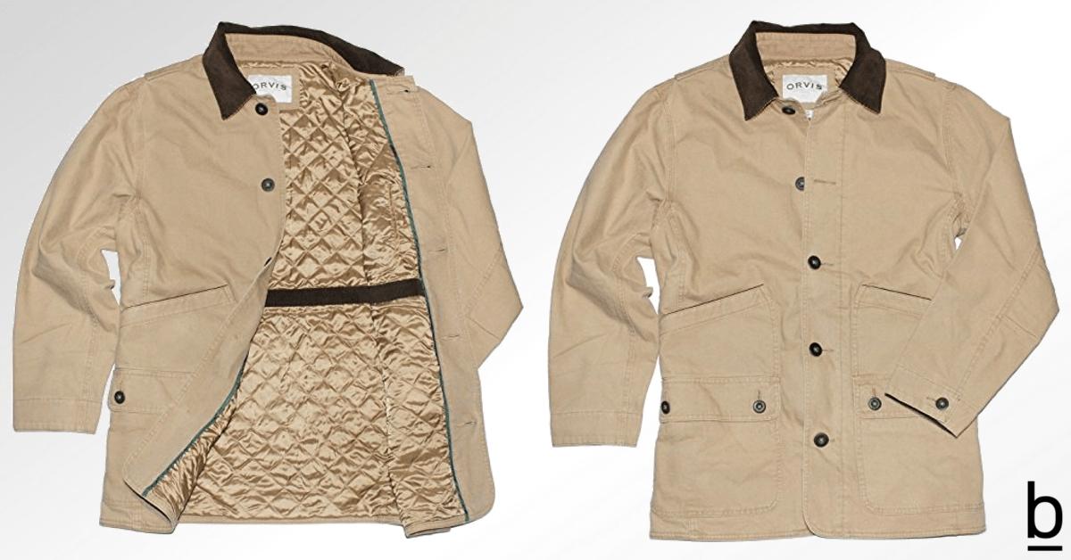 orvis barn jacket