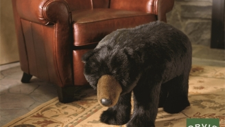 Orvis' Bear Footrest Is A Must Have For Any Man Cave
