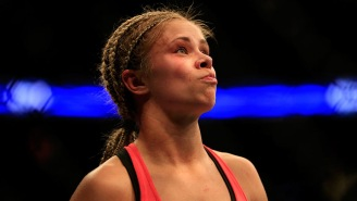 Paige VanZant Fought Two Rounds With A NASTY Broken Arm At UFC St, Louis, Is Up For Joining WWE