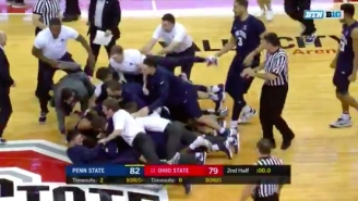 Penn State Upset Ohio State On A 35-Foot Buzzer Beater In The Best Ending Of The College Basketball Season