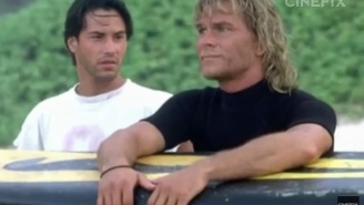 Here Are 7 Things You Probably Didn't Know About 'Point Break' Including How Wild Patrick Swayze Was