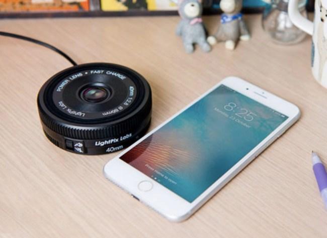 Power Lens Qi Charging Pad