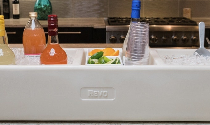 revo party barge vodka bar