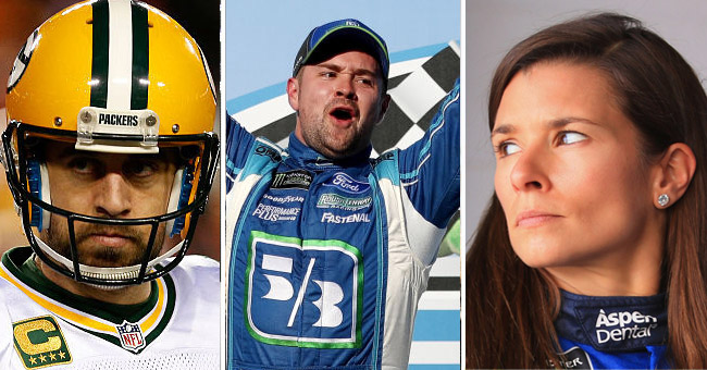 Ricky Stenhouse Asked Danica Aaron Rodgers
