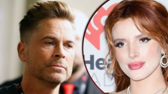 Rob Lowe Eviscerated Bella Thorne For Whining About The Deadly Mudslides Making Her Late