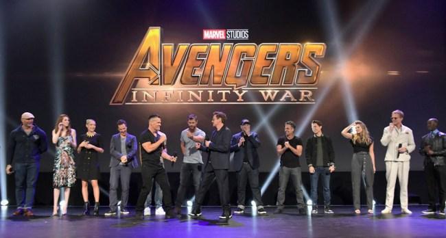 Robert Downey Crew Infinity War Gifts