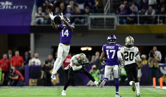 Saints Fans Video Vikings Game Fixed