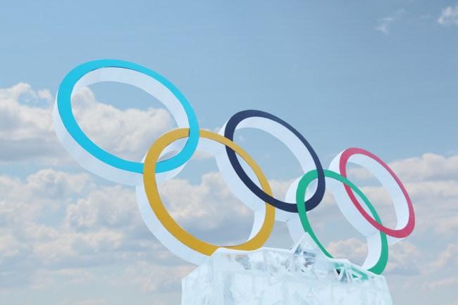 Winter Olympics Rings