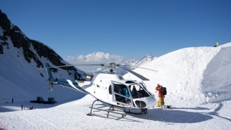 Dude's First Time Going Heli-Skiing Did Not Go As Planned…In Fact, It Went As Hilariously Bad As Possible