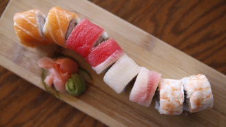 Sushi-Lover Coughs Up 5-Foot-Long Tapeworm And Vows To Never Eat Salmon Sushi Again