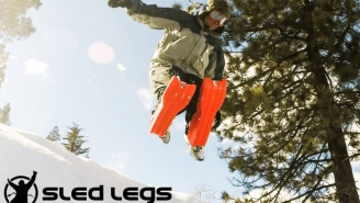 Sled Legs Let You Hit The Slopes Like A Transformer