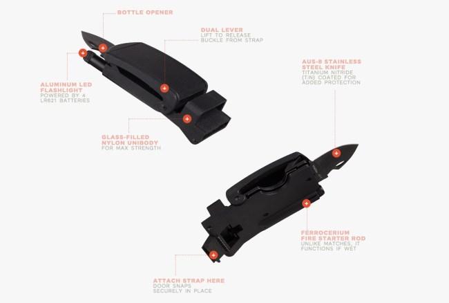 SlideBelt Survival Belts Tools