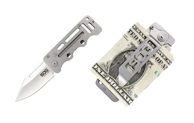 SOG Money Clip Knife