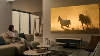 CES 2018: Sony's New 4K Projector Is A $30,000 Piece Of Furniture That Beams A 120-Inch Picture