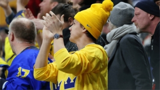 Swedish Captain Throws World Juniors Medal Into Crowd And Lucky Fan Does Something Bizarre