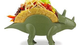Taco Tuesday Will Never Be The Same Again When You Have This Dinosaur Taco Holder In Your House