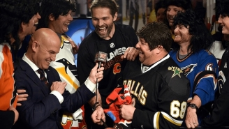 LISTEN: My Chat With The Traveling Jagrs About Jaromir Jagr's Legendary NHL Career
