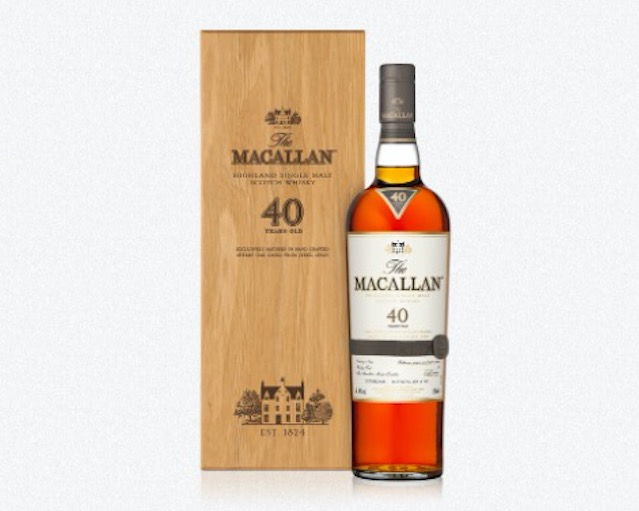 things we want Macallan 40 year old