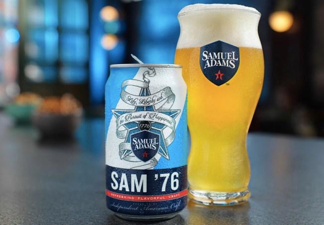 things we want Sam 76 beer