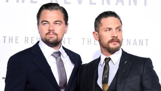 Tom Hardy Finally Got His Personalized 'Leo Tattoo' After Losing A Silly Bet To DiCaprio