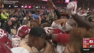 Tua Tagovailoa Throws Two Beautiful Passes To Win National Championship Game, Becomes Instant Legend