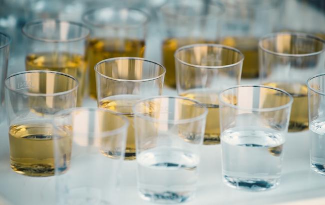 whiskey plastic shot glasses