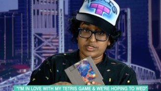 Florida Woman Hopes To Marry Tetris Game After Breaking Up With Her Calculator. Seriously.