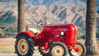 This 1961 Tractor Is The 'Porsche Of Farm Equipment' Because It's Actually Made By Porsche