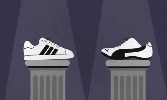 Adidas vs Puma history