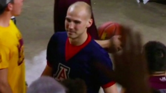 Arizona Cheerleader Gets Ejected For Heckling Opposing Players Through Megaphone