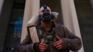 Amazing Video Of Tom Hardy Reciting Bane Lines To His Dog While Wearing Athletic Cup Goes Viral