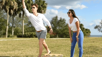 Bru-Bag Perfectly Combines Cornhole And Beer Pong