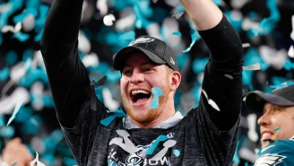 Carson Wentz Proposed To His Girlfriend After Winning The Super Bowl, Is Having The Best Week Ever